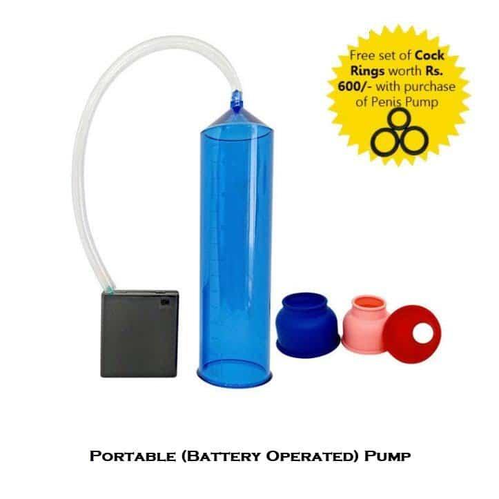 Battery Operated Penis Enlargement Pump