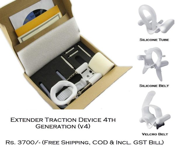 penis extender traction device